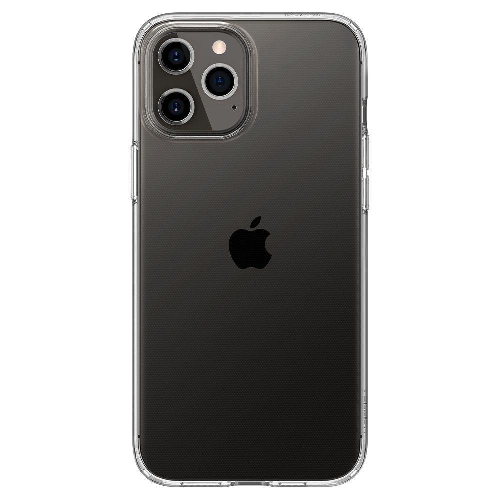 Оригинальный Чехол Spigen Liquid Crystal на iPhone 12 Pro / iPhone 12 Crystal Clear