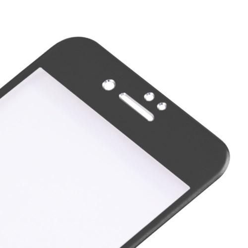 Защитное 3D Стекло на весь Экран Enkay 0.26mm 9H Alloy Черное для iPhone SE 2020/8/7