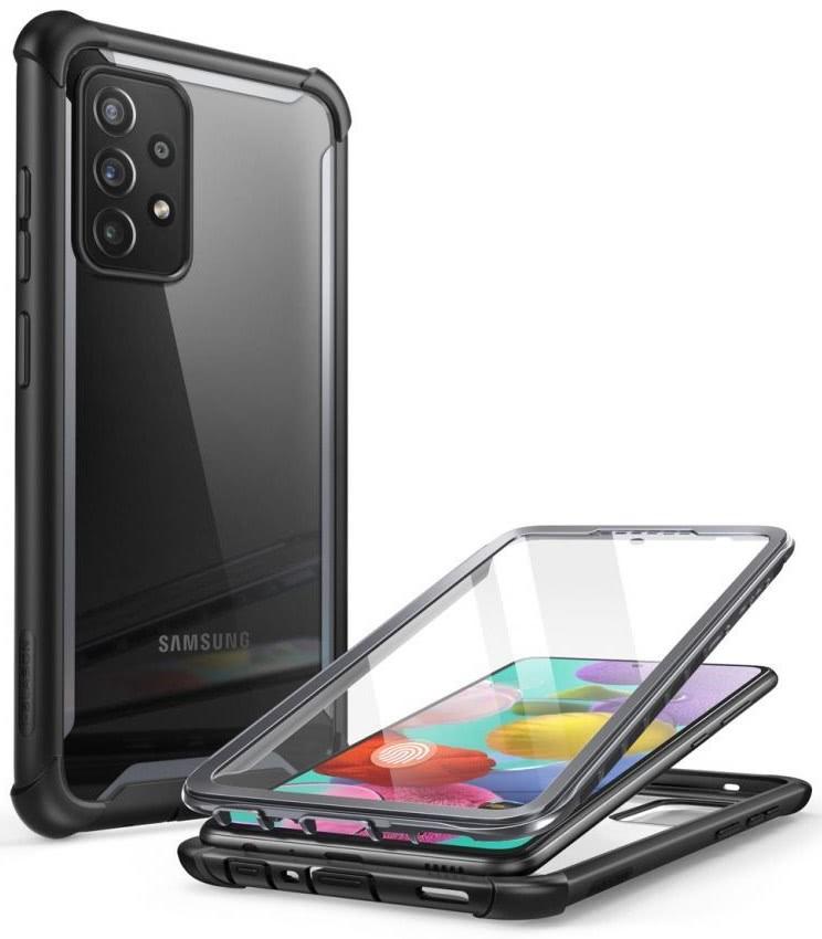 Двухсторонний чехол Supcase Iblsn Ares для Samsung Galaxy A72 - Black