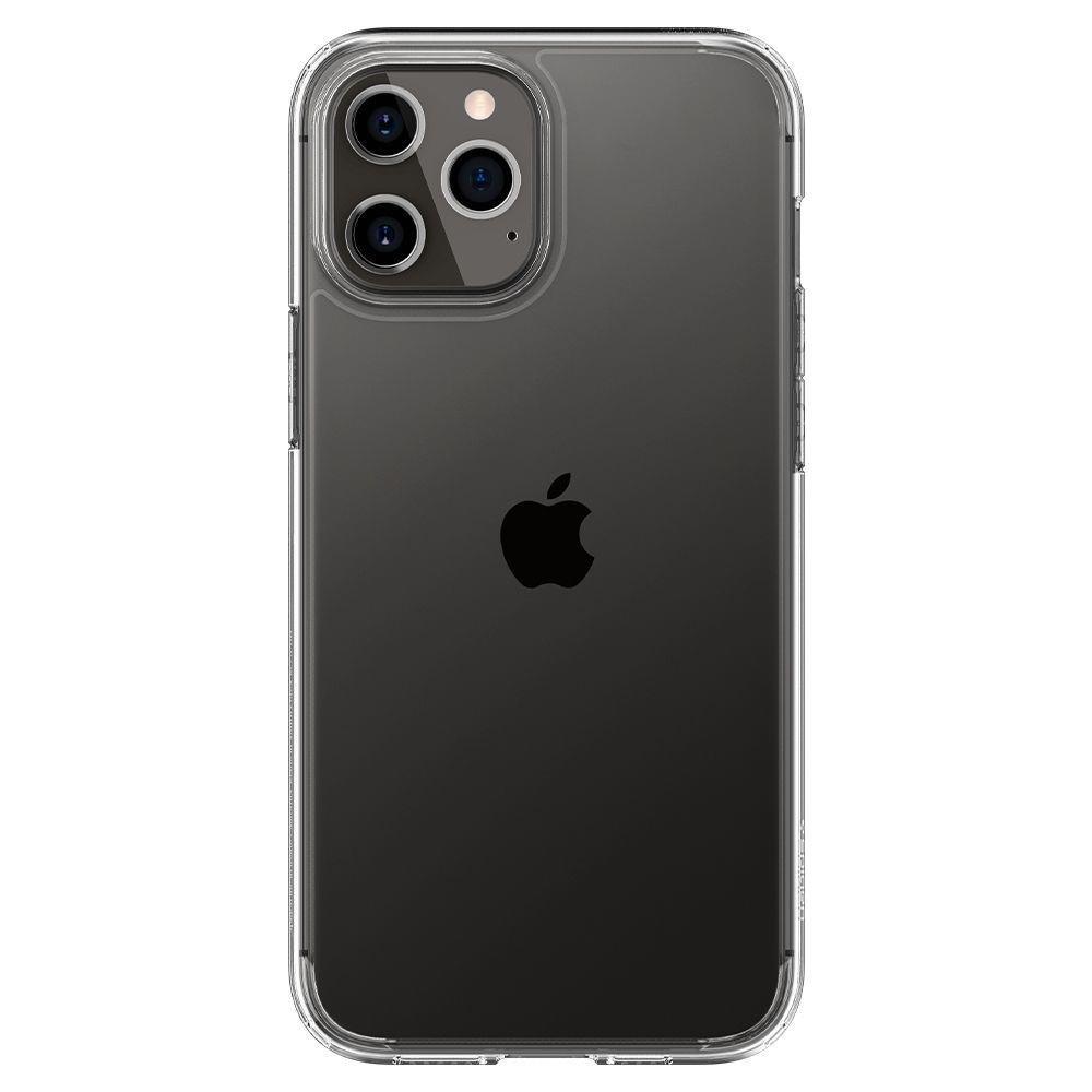 Оригинальный чехол Spigen Ultra Hybrid для iPhone 12 Pro / iPhone 12 Crystal Clear