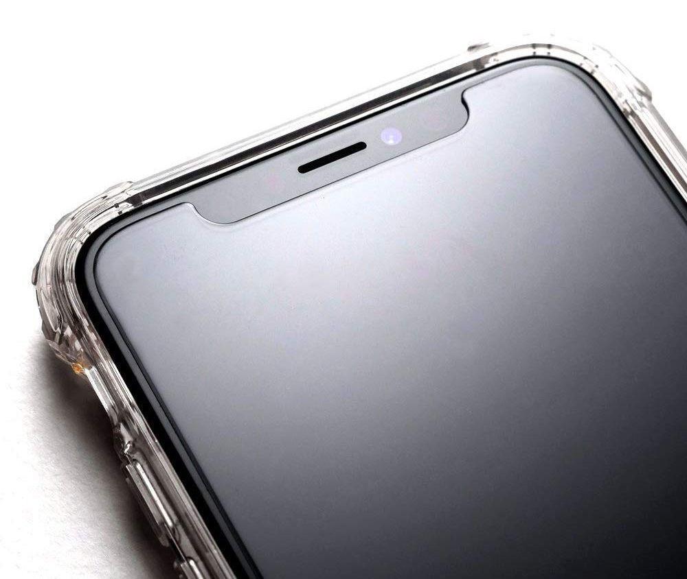 Защитное каленое стекло Spigen Glas.Tr Slim на Айфон 11/Xr