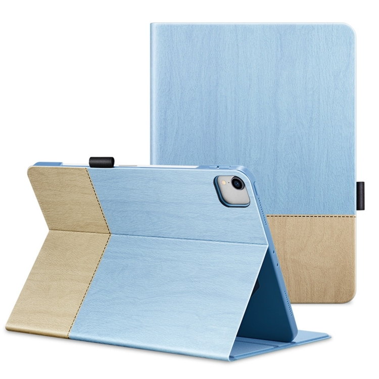 Чехол-книжка ESR Simplicity Series Horizontal на iPad Pro 11 (2020) - голубой