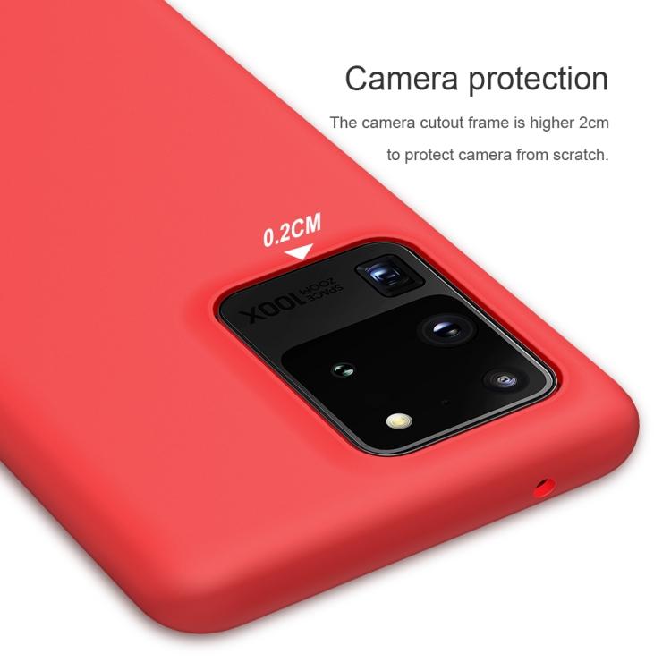 Защитный чехол NILLKIN Feeling Series для Samsung Galaxy S20 Ultra - красный
