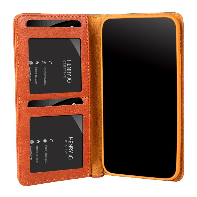 Чехол-книжка CMai2 Kaka Series для Айфон XS / X - коричневый