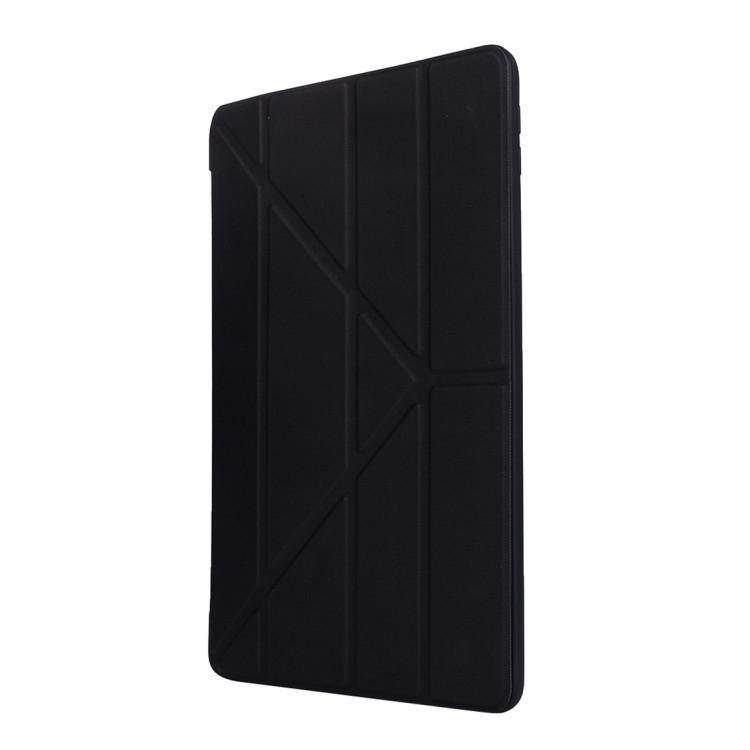 Чехол-книжка ударозащитный черного цвета для Айпад 7 10.2