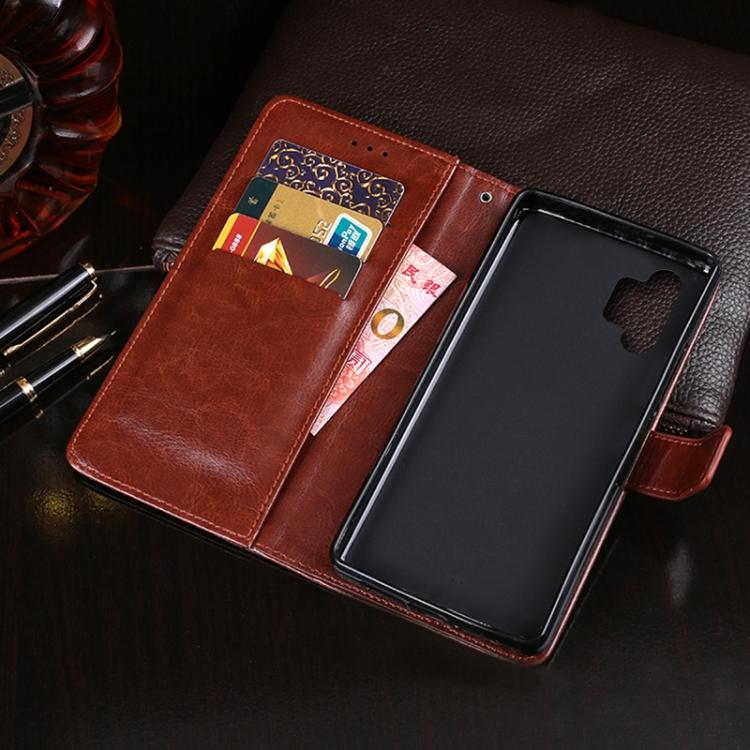 Желтый чехол-книжка idewei Horse для Samsung Galaxy A32