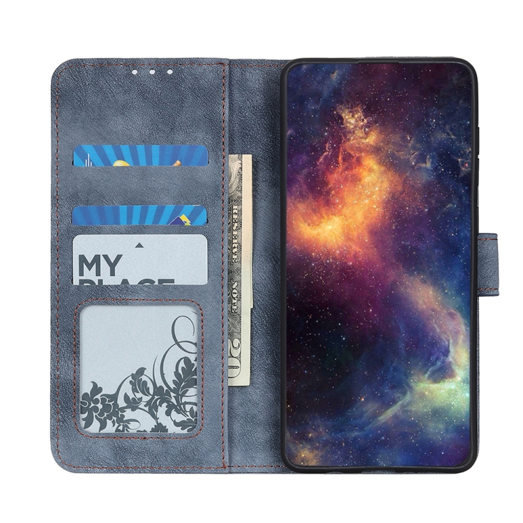Чехол-книжка Antelope Texture на Галакси A02 - синий