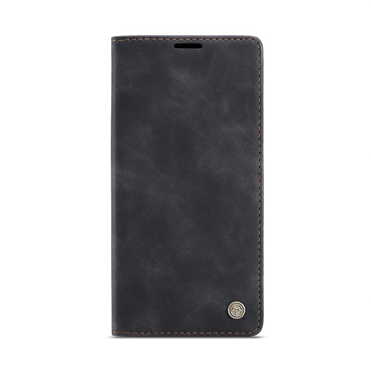 Кожаный чехол CaseMe-013 Multifunctional на iPhone 12 Pro Max - черный
