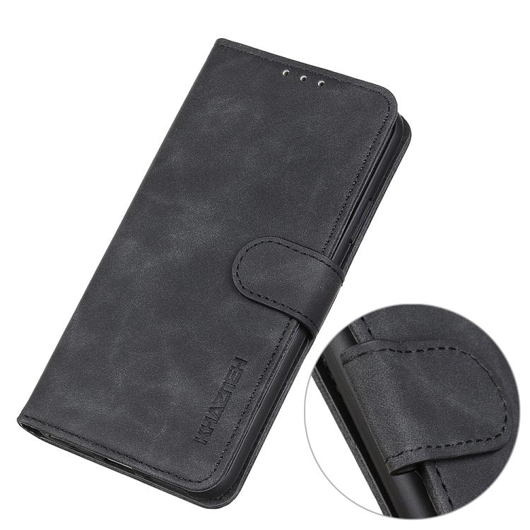 Чехол-книжка черного цвета с магнитной защелкой для Сяоми Редми 9А