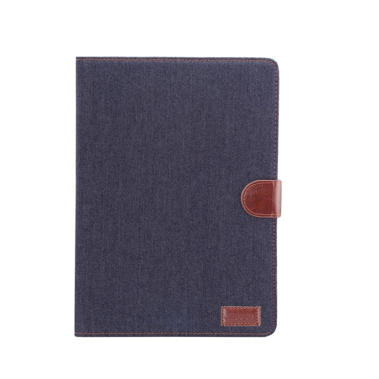 Чехол-книжка Dibase Denim Leather Case на iPad 10.2 - синий
