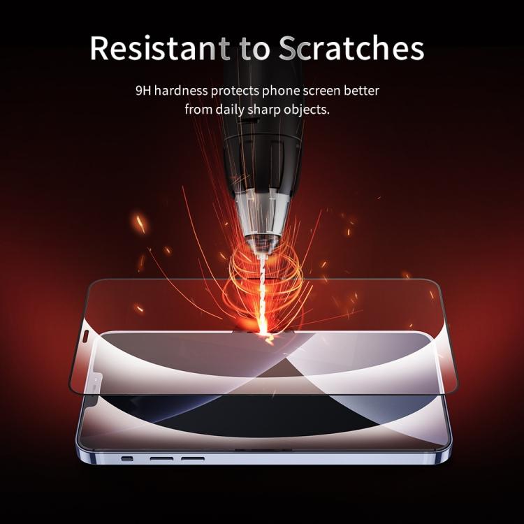 Ударостойкое защитное стекло для Айфон 12