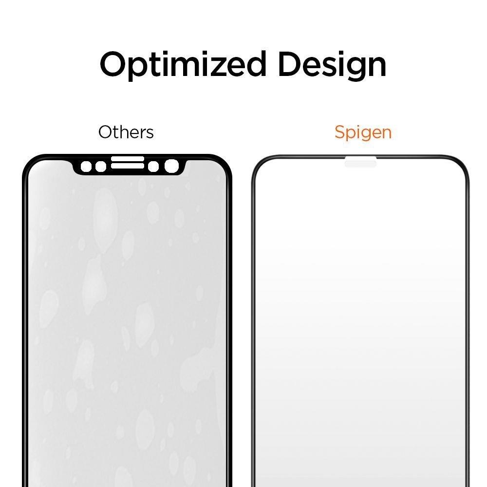 Ударостойкое коленное защитное стекло на Айфон 11 Про Макс