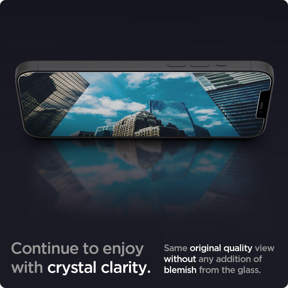 Стекло ударостойкое для Айфон 12 Про Макс