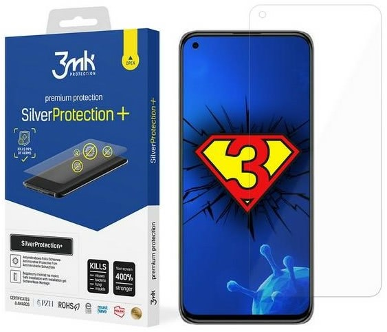 Защитная антимикробная пленка 3MK Silver Protect для Xiaomi Mi 11 Lite