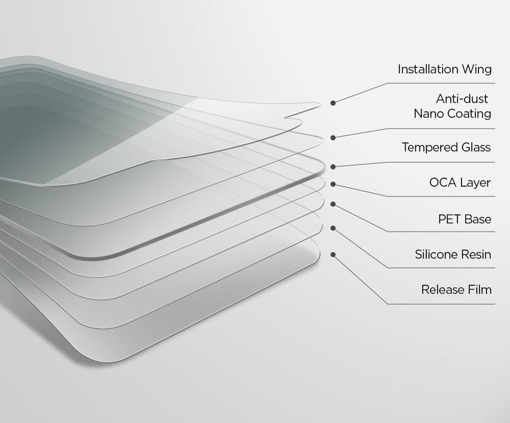 Защитное каленое стекло Spigen Glas.Tr Slim IPhone 11/Xr