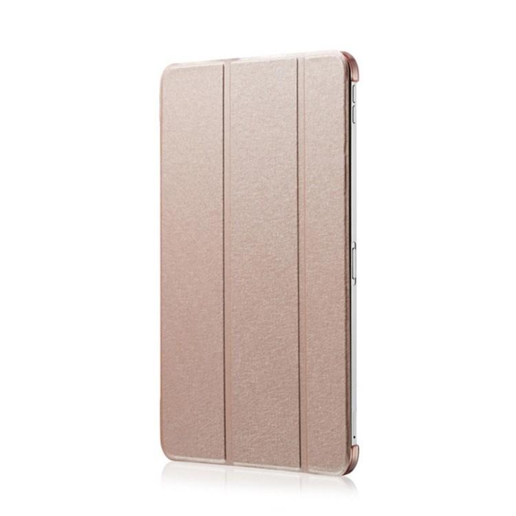 Чехол- книжка Silk Texture на iPad Pro 12.9-розовое золото