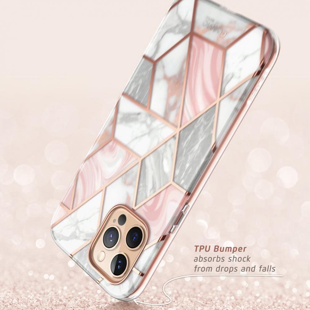 Двухсторонний чехол для Айфон 12 Pro / iPhone 12 Marble
