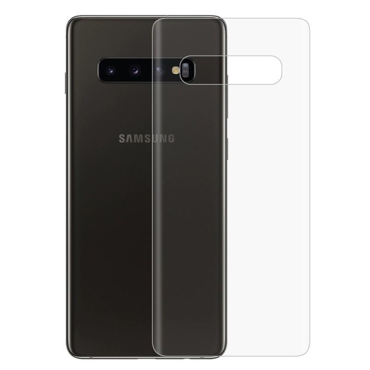 Защитная пленка на заднюю панель на Samsung S10 Pus