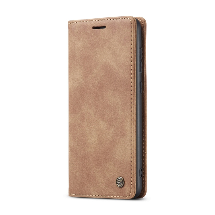 Чехол-книжка CaseMe 013 Series на Samsung Galaxy A72 - коричневый