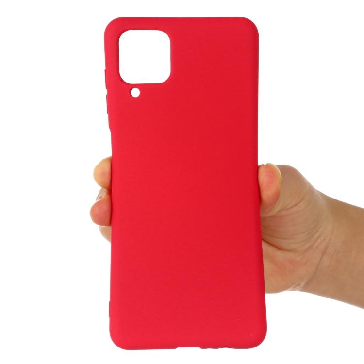 Силиконовый чехол Solid Color Liquid Silicone на Ксяоми Ми 11 Лайт - красный