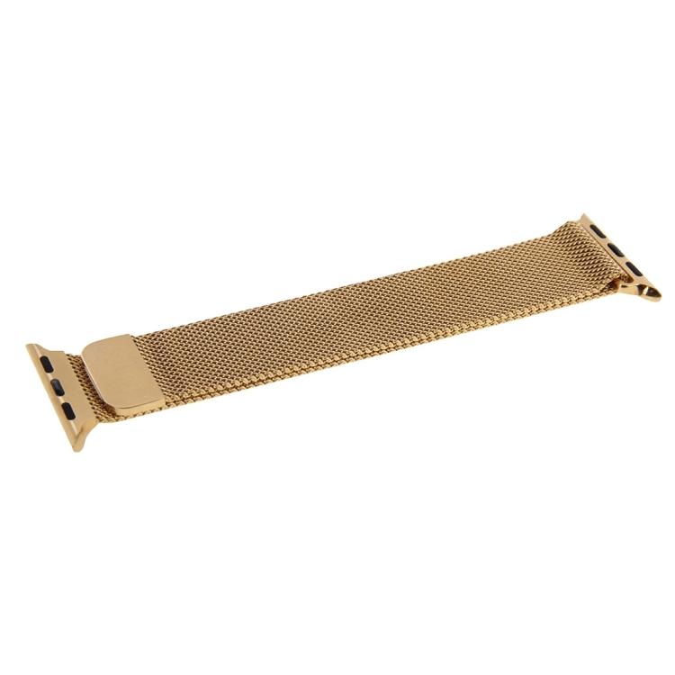Браслет с нержавейки золотого цвета для Эпл Вотч 42/44мм