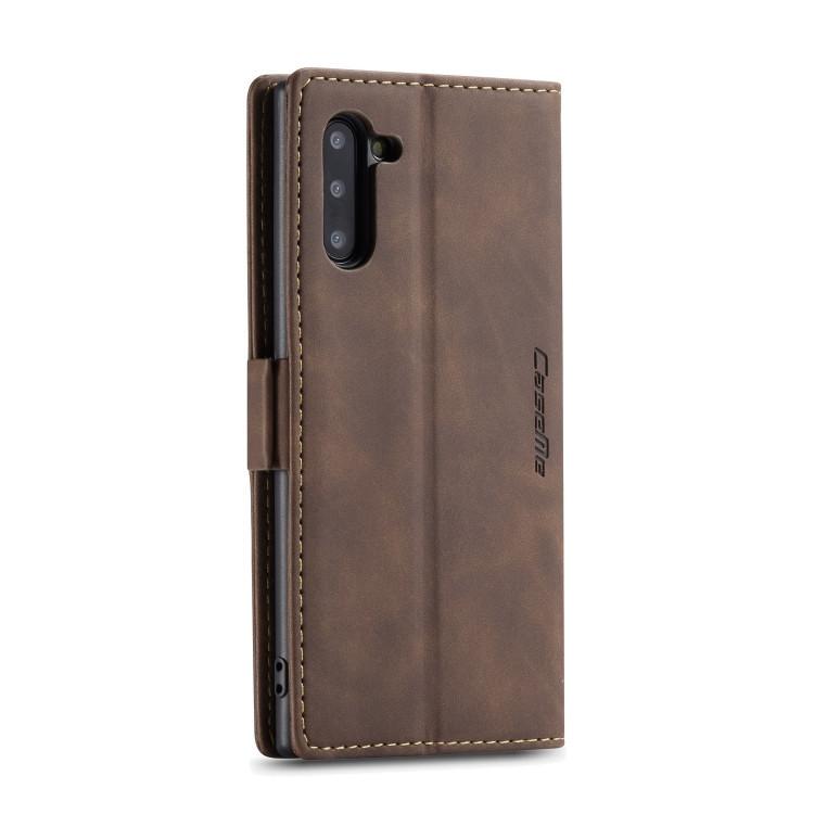 Кожаный чехол CaseMe-013 Multifunctional на Samsung Galaxy Note 10- кофейный