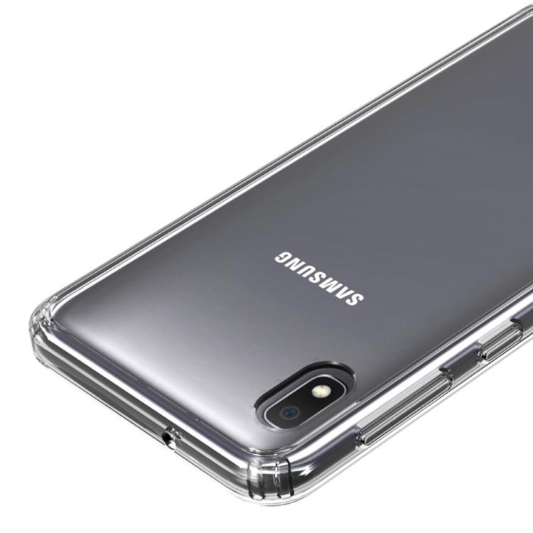 Противоударный чехол HMC Acrylic Protective Case  для Samsung Galaxy A10-черный