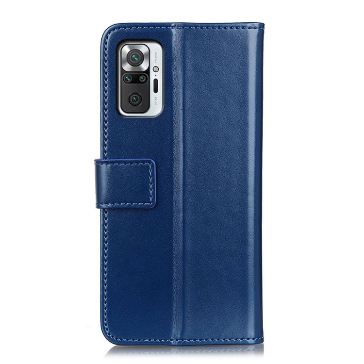 Чехол-книжка на Ксяоми Redmi Note 10 Pro - синий