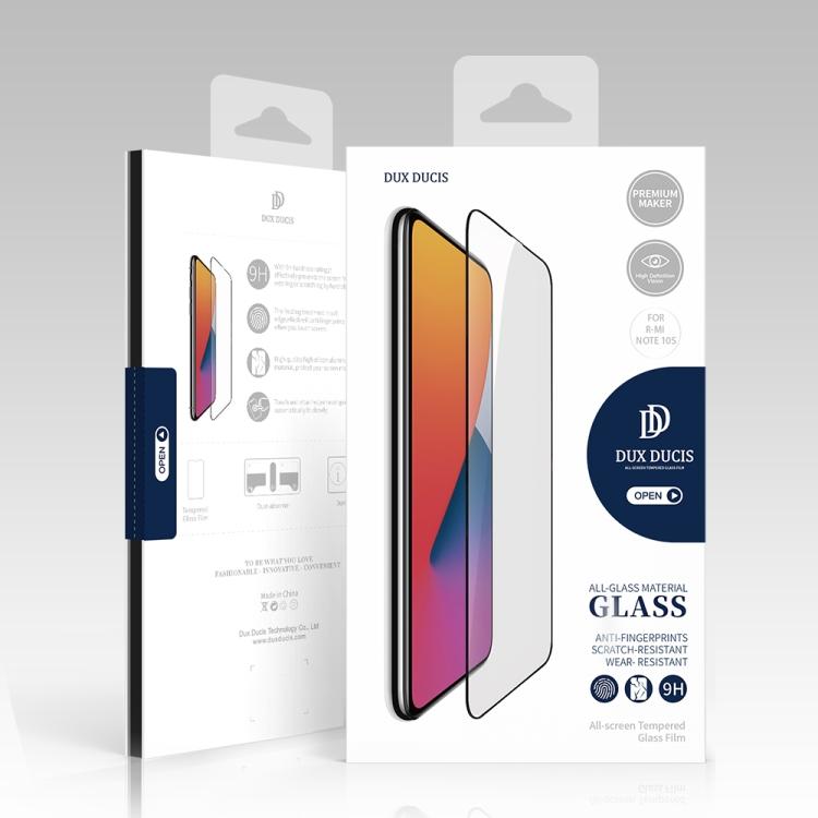 Защитное стекло DUX DUCIS 0.33mm 9H для Xiaomi Redmi Note 10S - черное