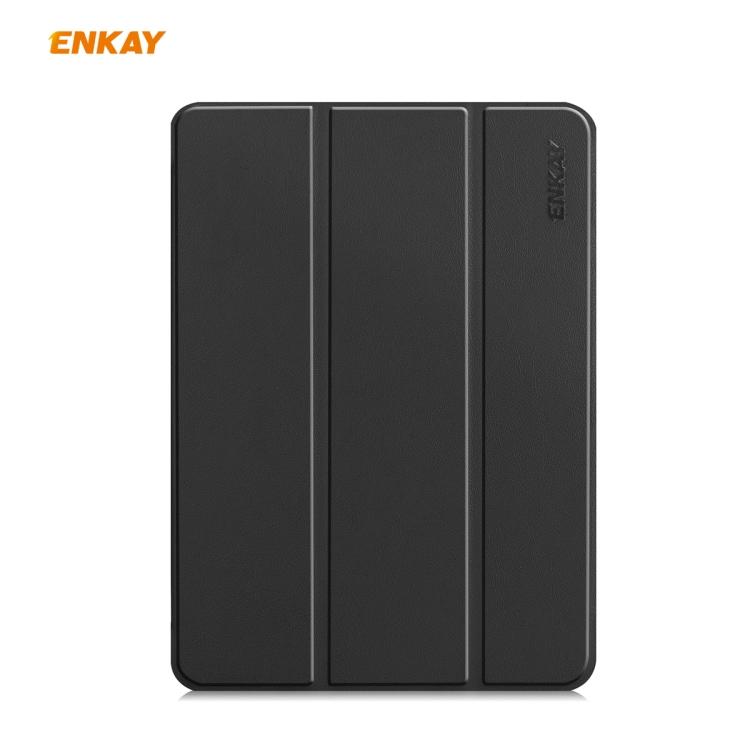 Чехол-книжка ENKAY ENK-8001 для iPad Pro 11 2020/2021/2018/Air 2020 - черный