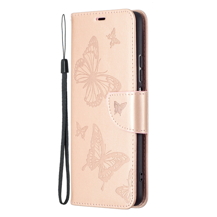 Розово золотой чехол-книжка для Сяоми Поко Ф3