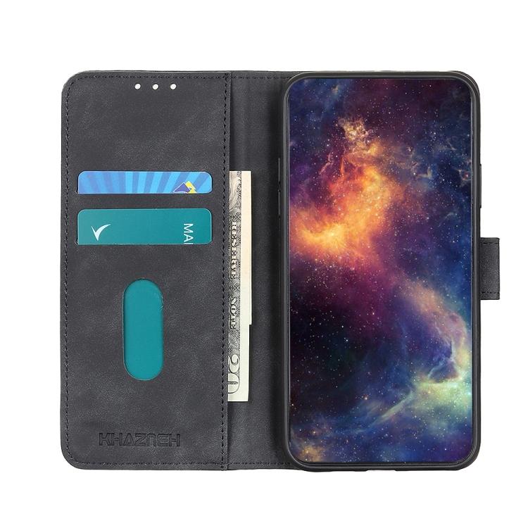 Черный чехол-книжка со слотами для кредиток  на Айфон 12 Мини