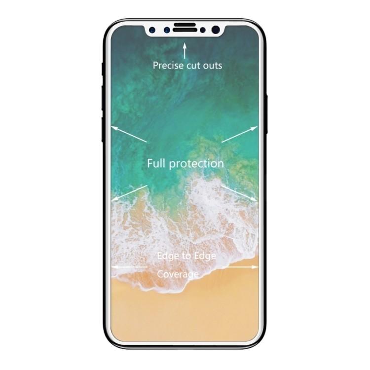 Защитное 3D стекло ENKAY Hat-Prince на iPhone 11 Pro/X/Xs 0.26mm 9H Surface Hardness 3D белое