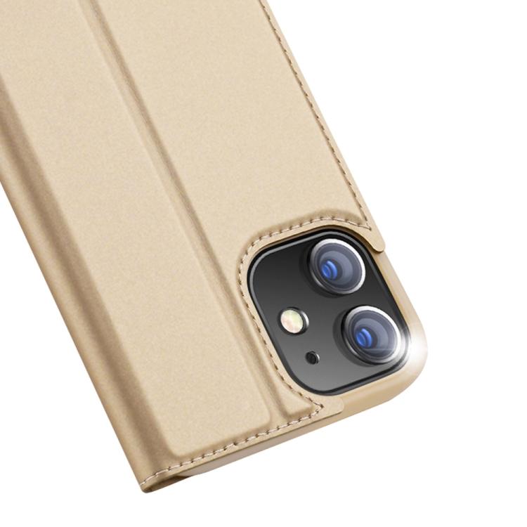 Чехол-книжка DUX DUCIS Skin Pro Series на Айфон 12 /12 Pro - золотой