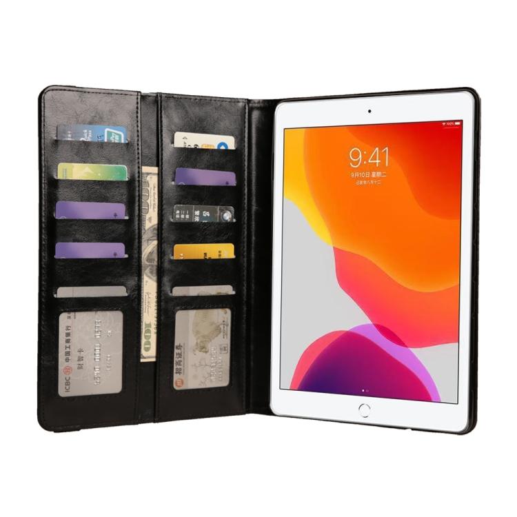 Кожаный чехол-книжка для iPad 8/7 10.2