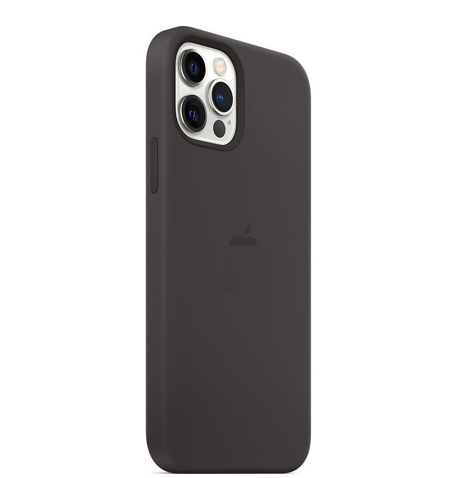 Черный чехол накладка для Айфон 12
