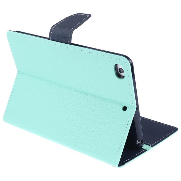 Чехол-книжка для Айпад мини 5 сине-мятного цвета