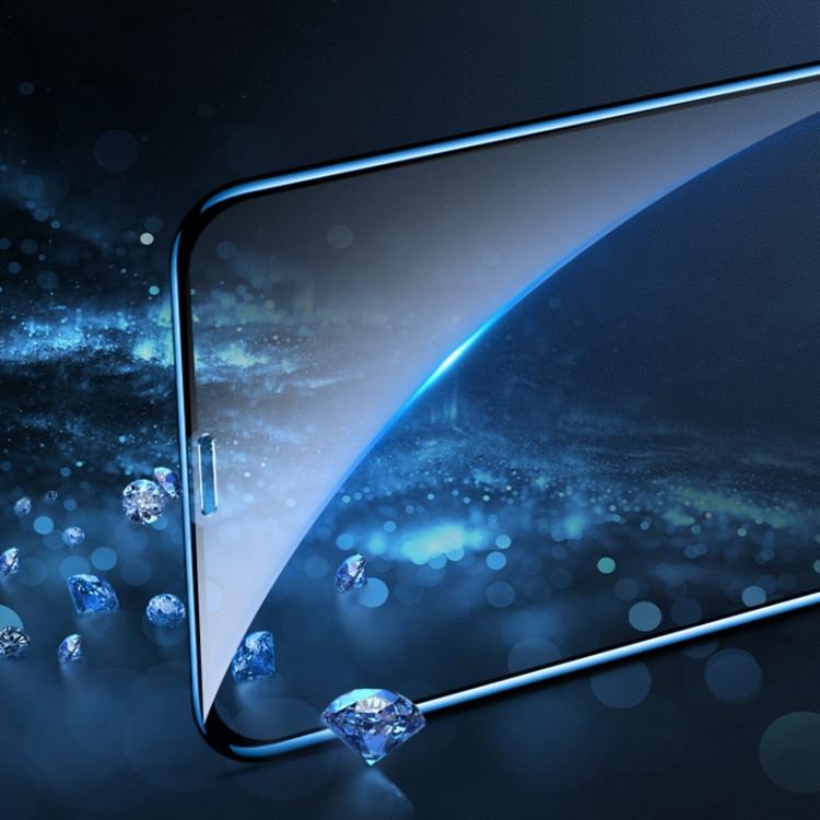 Защитное стекло моколо 0.33 9H 3Д Фулл Глю Курвид Фул Скрин для Айфон 11/Xr