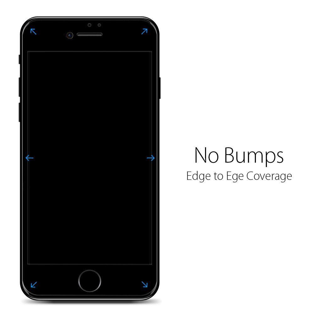 Каленое стекло SPIGEN GLASS FC для iPhone 7/8/Se 2020 Black
