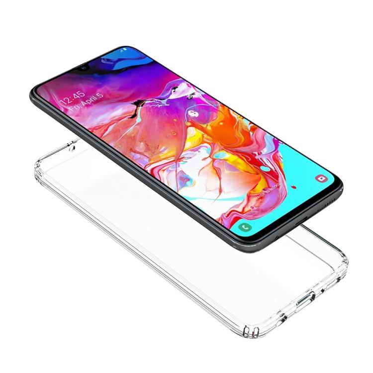 Акриловый противоударный чехол HMC дл Samsung Galaxy A70-черный