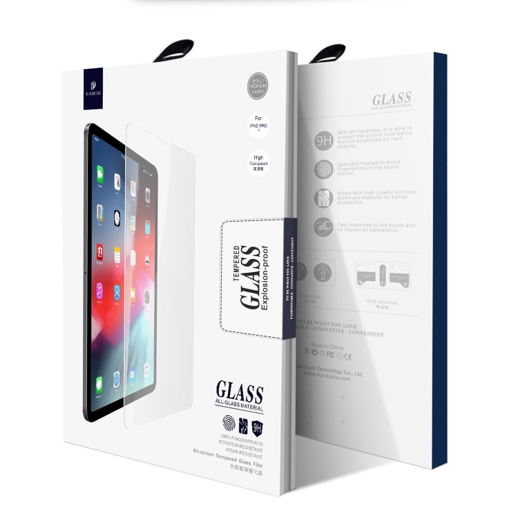 Защитное стекло DUX DUCIS  0.3mm 9H для iPad Air 2020 10.9 / iPad Pro 11 2018 / 2020 / 2021