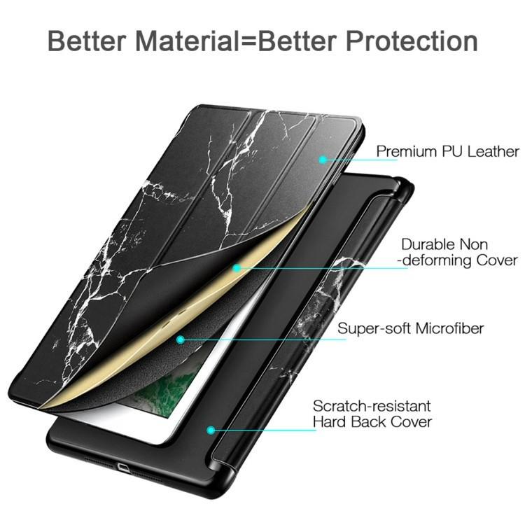 Чехол-книжка ESR Marble Series Three-folding Magnetic на Айпад 9.7
