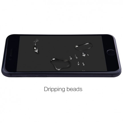 Ударостойкое защитное стекло с черной рамкой для Айфон СЕ 2