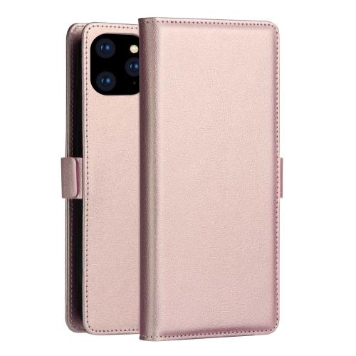 Чехол-книжка на Айфон 12 Mini - розовое золото