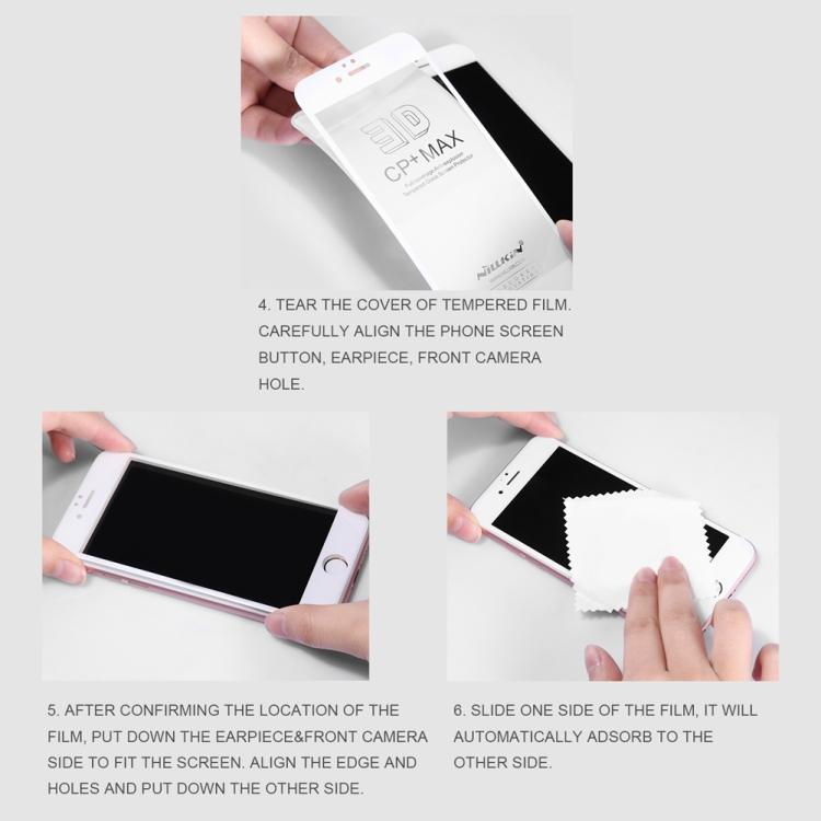Защитное стекло Nillkin с олеофобным покрытием для Samsung Galaxy A11/M11 - черное