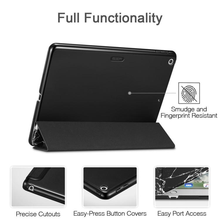 Чехол-книжка ESR Marble Series Three-folding Magnetic на iPad 9.7