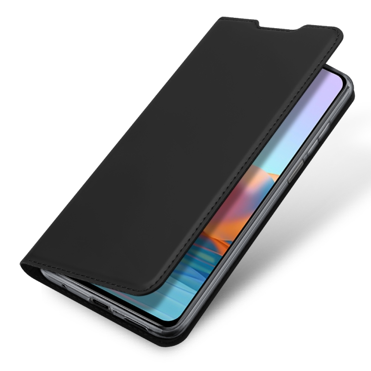 Чехол-книжка DUX DUCIS Skin Pro Series на Xiaomi Redmi Note 10 Pro - черный