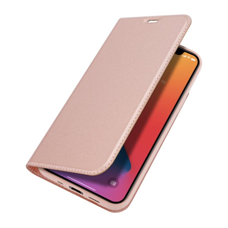 Чехол-книжка цвета розовое золото DUX DUCIS  на iPhone 12 Mini