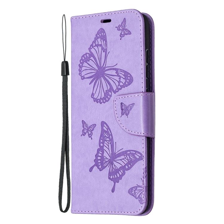 Чехол-книжка фиолетового цвета ударостойкий с магнитной защелкой на Самсунг Гелекси С20 ФЕ