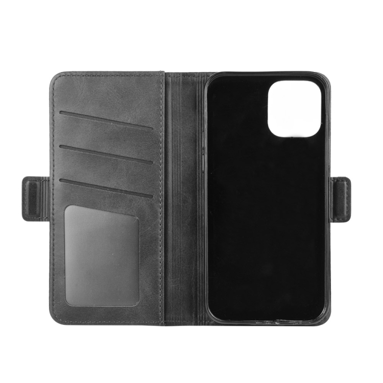 Чехол-книжка Dual-side Magnetic Buckle для Айфон 12 /12 Pro  - черный